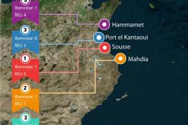 Las cadenas de balears con establecimientos en Túnez, en máxima alerta