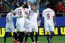 El Sevilla sigue adelante en la Liga Europa