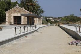 Un millón de euros para los viales afectados por las obras del tren Manacor-Artà