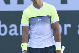 Nadal se despide de Indian Wells tras derrumbarse ante Raonic
