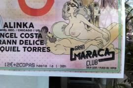 El IPFB denuncia un cartel con dibujos de contenido sexual y figuras religiosas