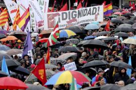 MARCHAS POR LA DIGNIDAD EN MADRID