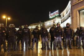 Los detenidos tras las Marchas de la Dignidad pasarán a disposición judicial