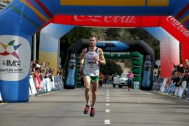 Guiem Durán y Julia Viellehmer triunfan en la Mitja Marató Ciutat de Palma