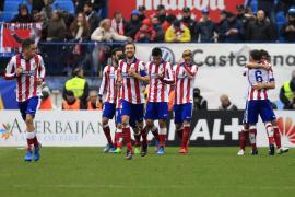 Koke dirige una victoria a balón parado del Atlético