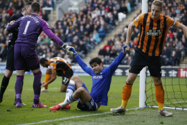 Diego Costa se lesiona ante Hull y podría ser baja con la selección española