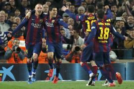Suárez hace más líder al Barça