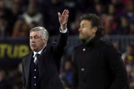 Ancelotti asegura que «la Liga no está acabada»