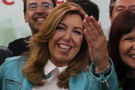 Susana Díaz anuncia que gobernará en solitario en Andalucía tras su victoria