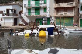El temporal del pasado fin de semana causa daños en Cala Figuera