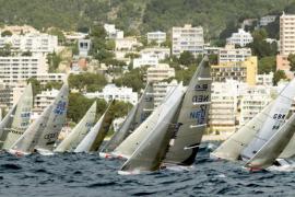 Unos 1.200 regatistas de 63 países competirán en la bahía de Palma
