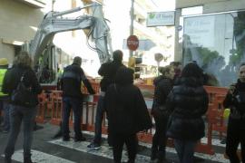 Los padres paran las obras del cable de alta tensión en Alcúdia