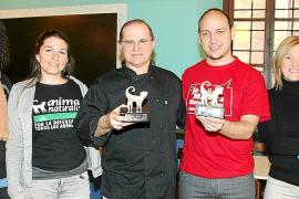 Entrega del premio Personas con Corazón, en Mallorca