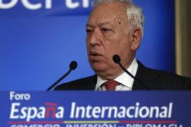 Margallo: «El trozo de avión más grande era de un metro»