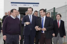 Inaugurada la nueva estación de tren de Sa Pobla