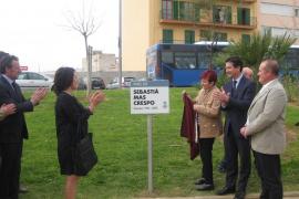 Cort descubre una placa en honor a Sebastià Mas Crespo