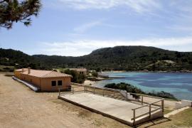 El refugio del Parque Nacional de Cabrera inicia la temporada 2015