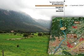 Santa Maria adquiere 19 'quarterades' en la Vall de Coanegra por 390.000 euros