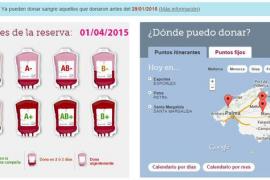 El Banco de Sangre pide donaciones a personas con Rh negativo para Semana Santa