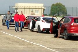 Jornada de pruebas Honda de Autovidal