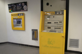 Detenida una banda acusada de forzar 17 cajeros automáticos en Mallorca