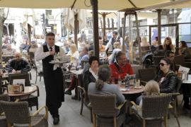 Lleno hotelero en Palma y en las principales calles  comerciales