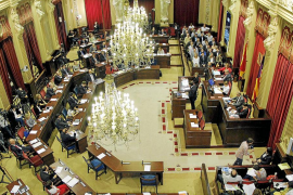 El Parlament paga 10.251 euros de 'finiquito' a parte de los diputados