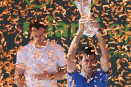 Djokovic gana su quinto título en Miami ante un agotado Murray