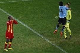 Uruguay gana en los penaltis (4-2) y se enfrentará a Holanda en semifinales