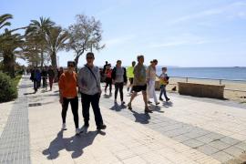 Abril arranca frío, con temperaturas más bajas de lo normal en Mallorca