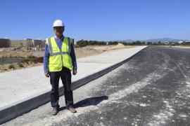 La constructora termina las obras de urbanización en ses Fontanelles