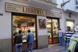 La Librería Ripoll de Palma sucumbe a la crisis y cerrará sus puertas el día 15