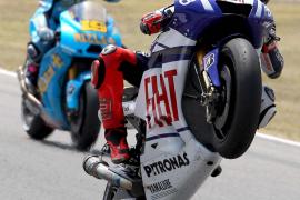 Lorenzo saldrá en primera posición tras batir el récord del circuito