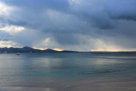 Cielo cubierto y polvo en suspensión este sábado en Balears