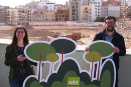 MÉS propone la creación de tres nuevos «pulmones verdes» en Palma