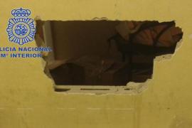Butronero detenido en Palma
