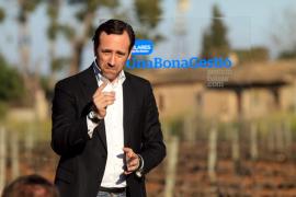 Bauzá promete «más empleo, menos impuestos y más regeneración»