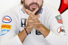 Alonso: «Espero acabar la carrera»