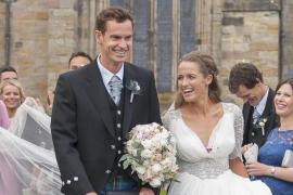 El tenista Andy Murray se casa en su localidad natal de Dunblane