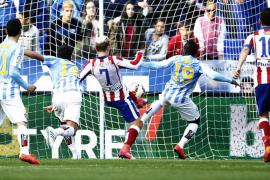 Los dos goles de Griezmann le dan un punto al Atlético
