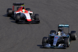 Merhi: «La carrera se me ha hecho corta»