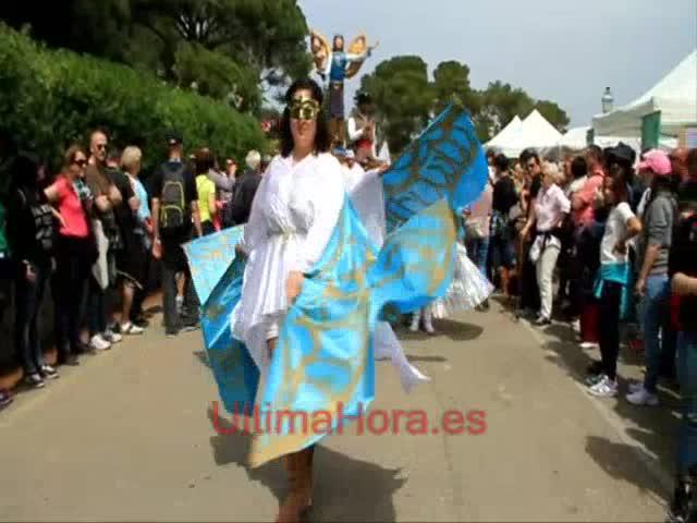 Multitudinario Diumenge de l'Àngel en Palma