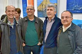 Inauguración del taller de pintura de África Juan