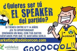 Un niño se encargará de la megafonía del partido entre Alcorcón y Mallorca