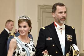 Los Reyes de España asisten al homenaje a Margarita de Dinamarca en su 75 aniversario