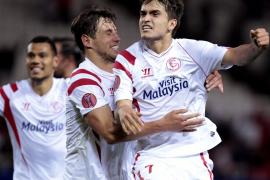 El Sevilla remontó en la segunda parte y deja abierta la eliminatoria