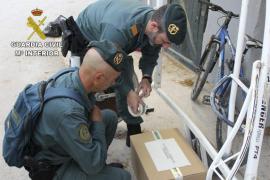La Guardia Civil encontró «cócteles de productos» para dopar a los caballos de trote