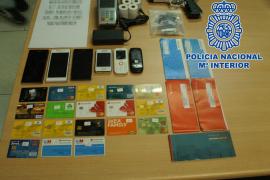 Una macrooperación contra las estafas 'carding', con implicados en Mallorca, termina con 54 detenidos