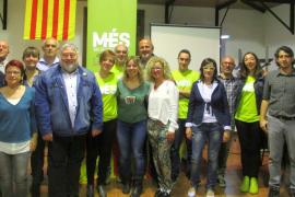 MÉS presenta a sus candidatos a las alcaldías de Andratx, Porreres y Binissalem