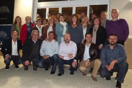 Xisco Moreno y Martí Roca, candidatos del Pi a Calvià y Pollença, respectivamente